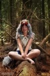 Priness Mononoke: Fun in the forrest by goddessnaya