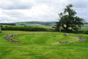 Scotland, stone circle by elodie50a