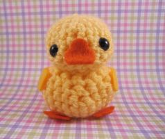 Amigurumi Yellow Duckie by misfitcreatures