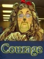 Have Courage, Cowardly Lion by Skelefish