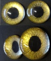 4cm 3D gold by DreamVisionCreations
