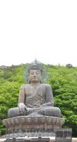 Big Buddha in Korea (SUL AK SAN) by chokocake88