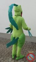 Grovyle Costume by shadowhatesomochao