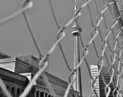 CN Tower and Union Station - Toronto by PhilsPictures