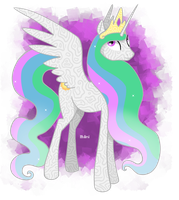 Amazing Princess Celestia by Ithlini