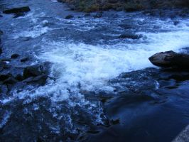 Rushing Water 02 by Gracies-Stock