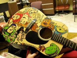 Toy Story Guitar by PunkRocker217rer