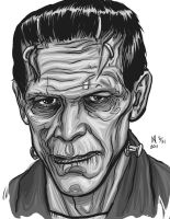 Frankenstein's Monster by quasilucid