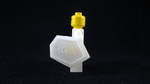 3D Printed LEGO Mirror Shield (OOT) by mingles