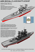 Ark Royal Class Battleship by Stealthflanker