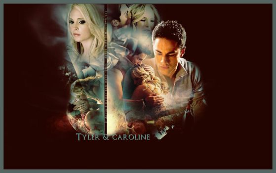 Caroline Forbes and Tyler Lockwood by Miss-deviantE