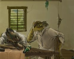 Sketch 5 - Mead by GloomyLavv
