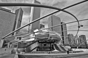 Auditorium in Millennium Park in Chicago by arnaudperret