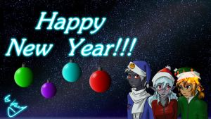 Happy New Year - 2011 by k3m35