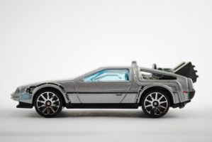 Hotwheels DeLorean by Samareck-Photo