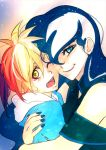 Rainbow Feather And Luna By Bakki by Q99