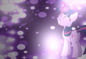 Twilight Sparkle wallpaper / avatar by DixieRarity