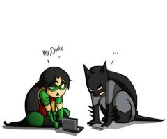 Batman and Robin - DS by XMenouX