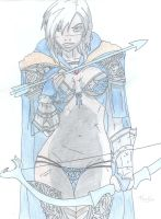 Ashe the Frost Archer by ThomSkae