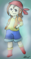 Harvest Moon IoH: Chelsea by Flaming-Cheetah