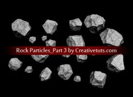 Rock Particles-PNG Image Set 3 by creativetuts
