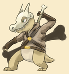 hall the cubone by Pangorondo