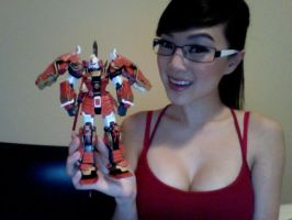 MG Shin Musha Gundam Model by VampBeauty