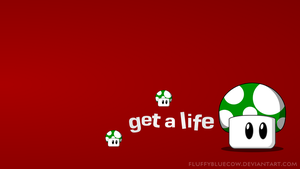 Mario Bros. Shrooms HD Wallpaper - Get a life by FluffyBlueCow