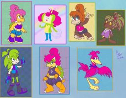Winx as assorted VG Species by EJW