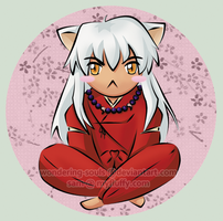 Chibi Inuyasha by wondering-souls