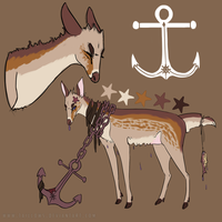 Anchor Deer - Auction (closed) by CATS0UP