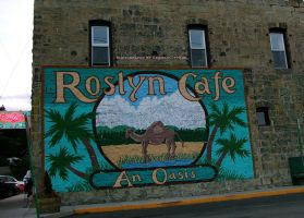 Roslyn Cafe. by GermanCityGirl
