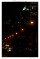 The Philadelphia I see - night by yellowcaseartist