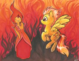 SpitFlame by lizspit