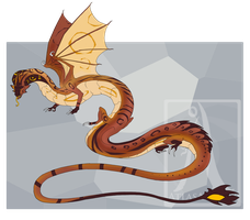 DesertDragon Adoptable Auction - [CLOSED] by AtlasArtifex