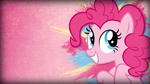 Grunge Pinkie Pie Wallpaper by TwopennyPenguin
