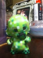 Creeper Munny by smushbox
