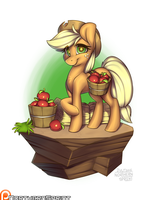 Island Pony - Applejack by NorthernSprint
