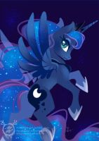 Princess Luna by mmishee