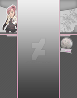 Shugo Chara - Amu Hinamori, Youtube Background 3.0 by HinamoriOfficialAmu