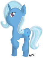Trixie- Shading Practice by ChaoticDiscord