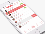 Chat iPhone App Design by Ramotion