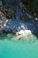 NZ Deep natural pool 2 by Chunga-Stock