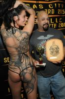 An award from the Philly Tattoo Convention by danktat