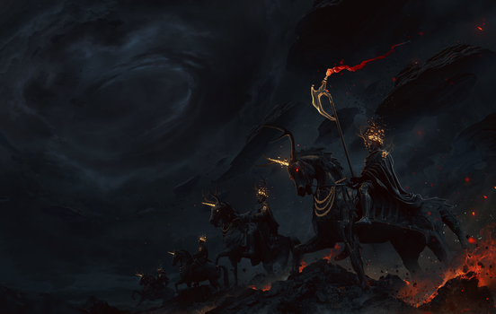 The horsemen of the Apocalypse by itsbxd