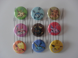 Pokemon Badges by funkyrach01