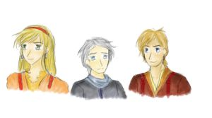 New Story Character Sketches by Elmida