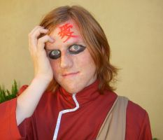 frightening Gaara by xael-lones