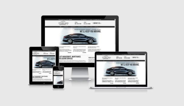 Caldwell Fleet leasing services website by shapemetal