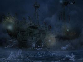 The Flying Dutchman by LenaNik